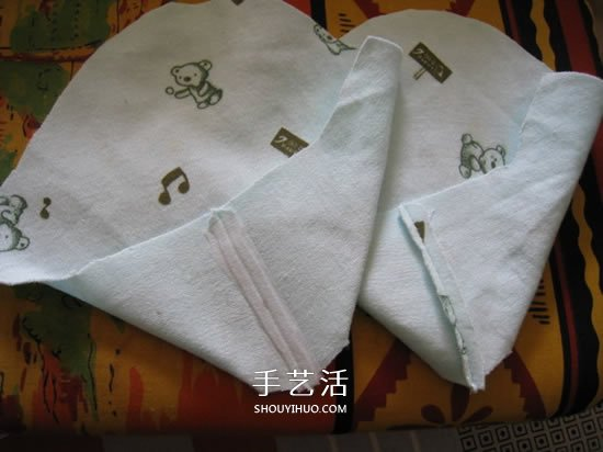 宝宝蒲包鞋的做法图解 婴儿豆渣饼鞋制作方法 -  www.shouyihuo.com