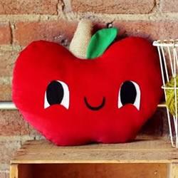 自制红苹果抱枕的方法 跟着图纸做很简单!