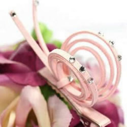 羊皮绒制作蜗牛发卡图解 可爱又美丽发饰DIY