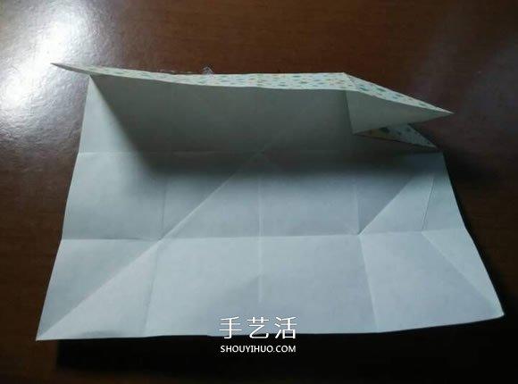 好玩魔术盒的折法图解 可收缩盒子的折法步骤_手艺活网