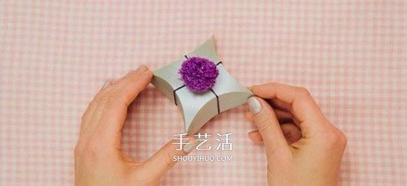 喜糖盒展开图的画法 折纸礼品盒的详细图解 -  www.shouyihuo.com