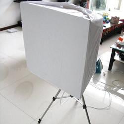 自制柔光灯箱的方法 简易柔光灯DIY制作教程