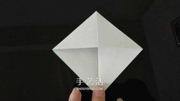 折纸热气球的方法过程 热气球的折法图解教程