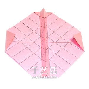 好看纸玫瑰的详细叠法 手工玫瑰花怎么折图解