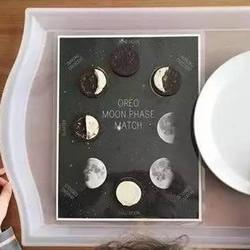 奇思妙想中秋月 让孩子用奥利奥饼干做月亮