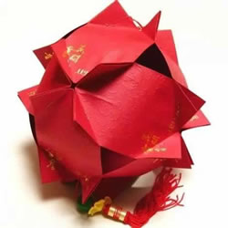 红包灯笼的制作方法 怎么做红包灯笼步骤图解