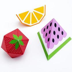 漂亮的纸模型水果图片 馋虫都被它勾出来了!