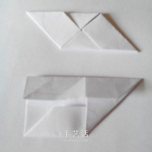 普通的纸(别太薄),裁成1:1的正方形(需要好多的啊) 正方形的纸片,先
