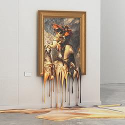 维也纳艺术家的小恶搞 如果世界名画融化了~