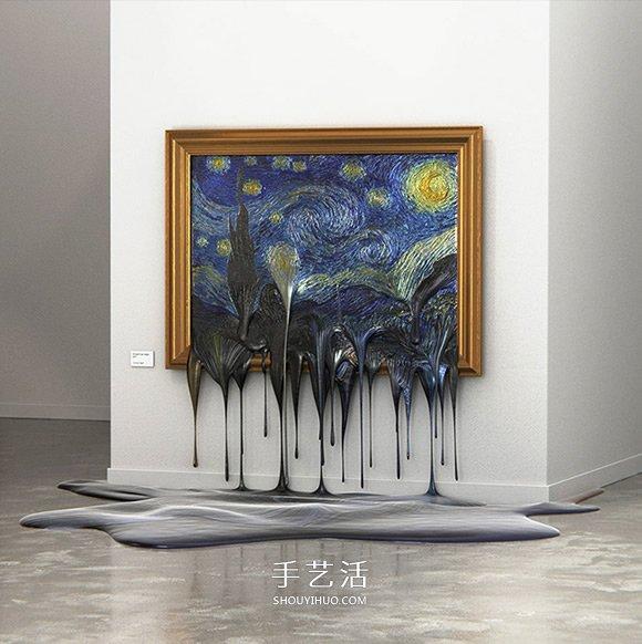维也纳艺术家的小恶搞 如果世界名画融化了~ -  www.shouyihuo.com
