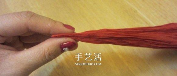 康乃馨怎么折详细图解 母亲节康乃馨折纸教程 -  www.shouyihuo.com