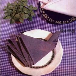 餐巾折大雁的方法图解 简单餐巾大雁的折法