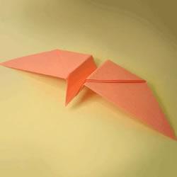 幼儿折纸大雁的教程 简单手工大雁的折法图解