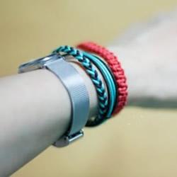 四股绳手链编法图解 四根绳子编手链的教程