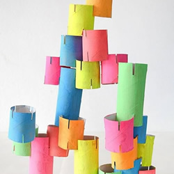 幼儿园益智玩具DIY 不花钱就可以玩得很开心