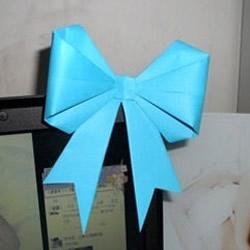 蝴蝶结折纸步骤图解 怎么折蝴蝶结简单好看