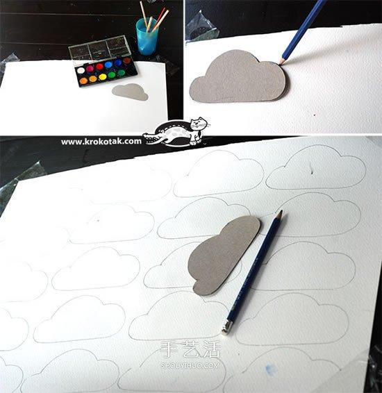 如何制作简单的纸风铃 儿童手工制作风铃步骤 -  www.shouyihuo.com