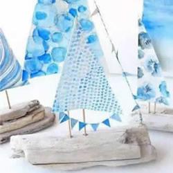 木头小帆船的制作方法 自制儿童帆船玩具图解