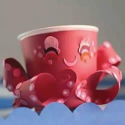 纸杯动物的手工制作 儿童制作纸杯动物大全