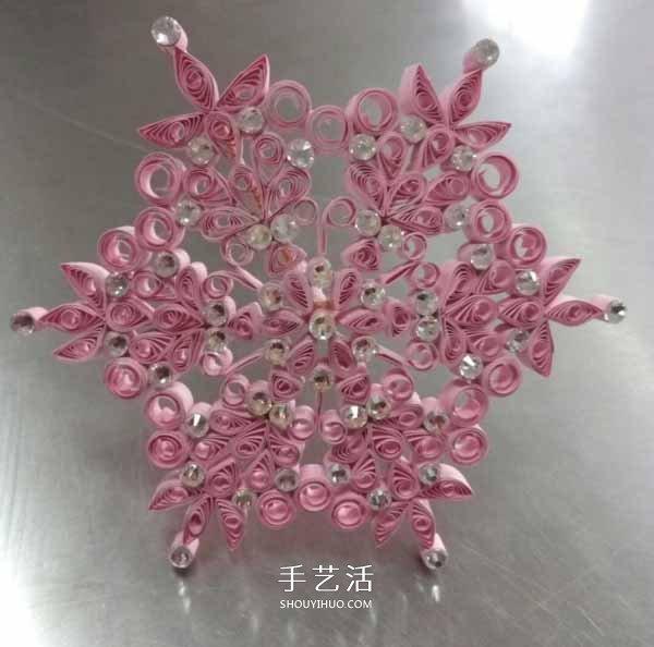 衍纸小花伞手工制作 漂亮的小花伞用卷纸做