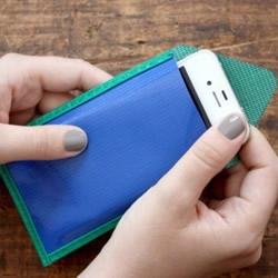 油布手工制作手机套 自制简约手机套的做法