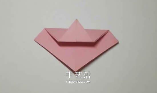 纸艺大全 折纸大全 折纸花  先把彩纸折剪成正五边形.不会做?