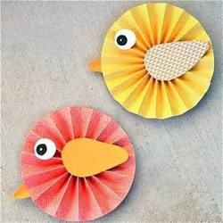 卡纸动物手工制作方法 幼儿园小动物DIY图片