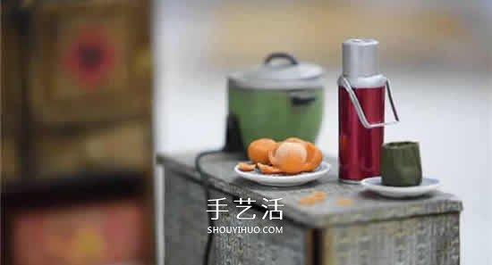 乍看以为是普通厨房…超精致的迷你模型作品 -  www.shouyihuo.com