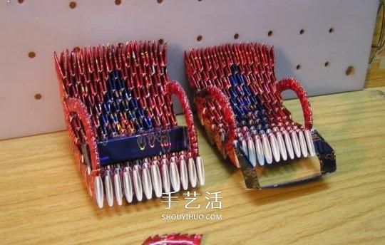 烟盒手工制作黄包车 你想要双轮还是三轮的? -  www.shouyihuo.com