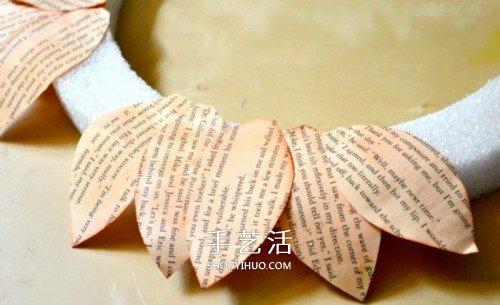 废纸做向日葵挂饰图解 幼儿手工制作向日葵 -  www.shouyihuo.com