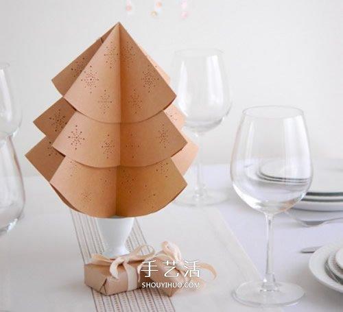 10个漂亮的手工圣诞树图片 都用纸制作而成 -  www.shouyihuo.com