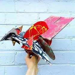硬纸板的手工小制作 做一个神秘的小飞兽~