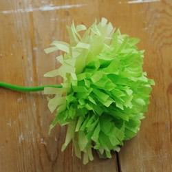 简单又漂亮手工皱纹纸花的制作方法图解