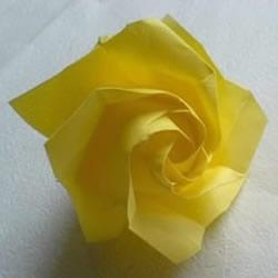 详细PT玫瑰的折法图解 手工PT玫瑰折纸教程
