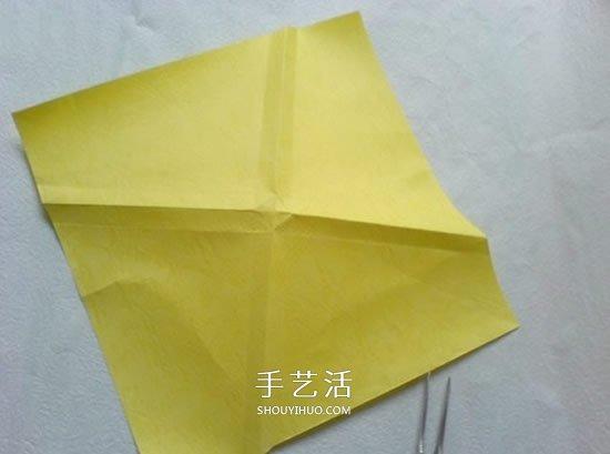 详细PT玫瑰的折法图解 手工PT玫瑰折纸教程 -  www.shouyihuo.com