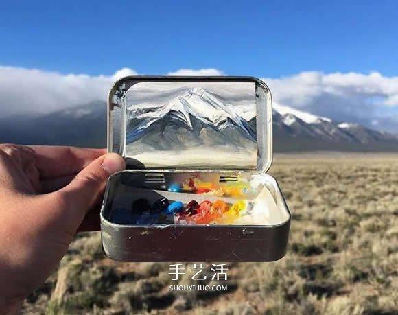 薄荷糖铁盒里的油画世界 把最美风景打包带走 -  www.shouyihuo.com