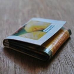 饮料盒废物利用做钱包 手工纸钱包制作教程