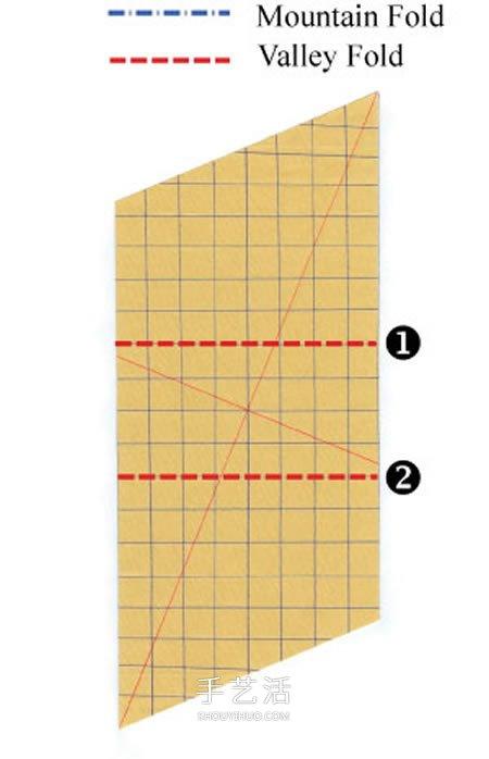 卷心玫瑰花的折纸步骤 手工卷心纸玫瑰的折法