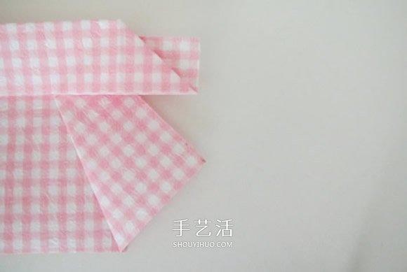 爱心盒子的折法有盖 折心形纸盒的步骤图解 4