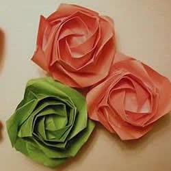 新川崎玫瑰的详细折法 怎么折新川崎玫瑰教程