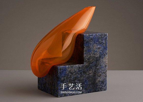 当个懒惰的花瓶!脆弱与坚硬相倚的玻璃雕塑 -  www.shouyihuo.com