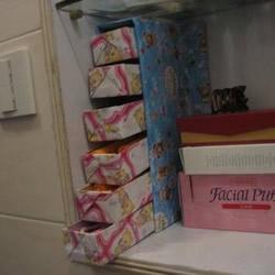 自制带抽屉首饰盒方法 饮料盒和纸箱做收纳盒