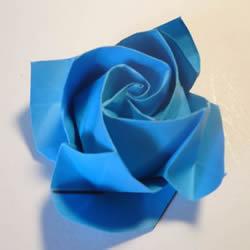 手工玫瑰花怎么叠图解 玫瑰花折叠方法教程