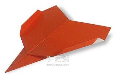 幼儿折纸战斗机的教程 简易纸飞机的折叠方法 -  www.shouyihuo.com