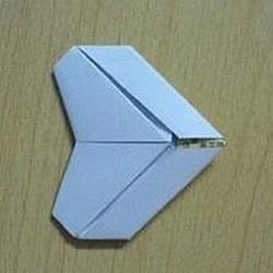 心形信纸的折法图解 简单爱心信纸怎么折