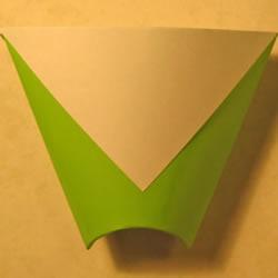 简易烟灰缸的折法图解 折纸烟灰缸图片教程