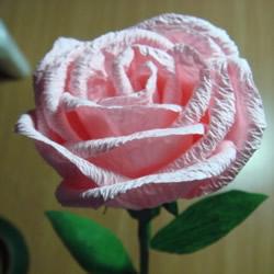 DIY纸藤玫瑰花图解教程 纸藤制作玫瑰的步骤
