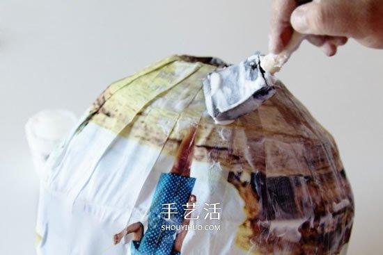怎样自制纸灯笼的做法 个性灯笼制作方法图解 -  www.shouyihuo.com