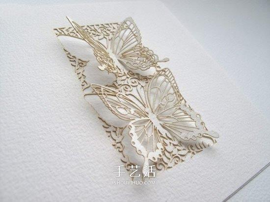 纸雕的艺术:让人赞叹的手工纸雕艺术品欣赏 -  www.shouyihuo.com