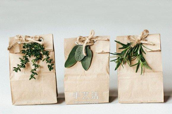 漂亮环保的包装方式 让你的圣诞礼物更有意义 -  www.shouyihuo.com